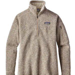 Patagonia better sweater 1/4 zip Pelican Size XXS